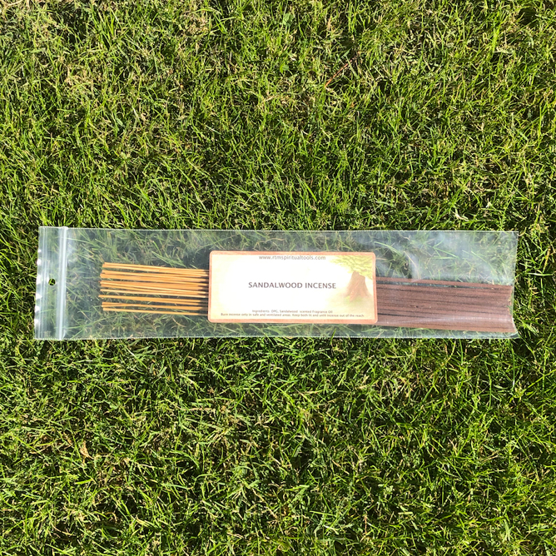 Sandalwood Incense Sticks by RTM Spiritual Tools