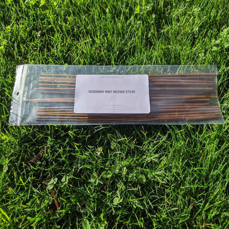 Rosemary-Mint Incense Sticks by RTM Spiritual Tools
