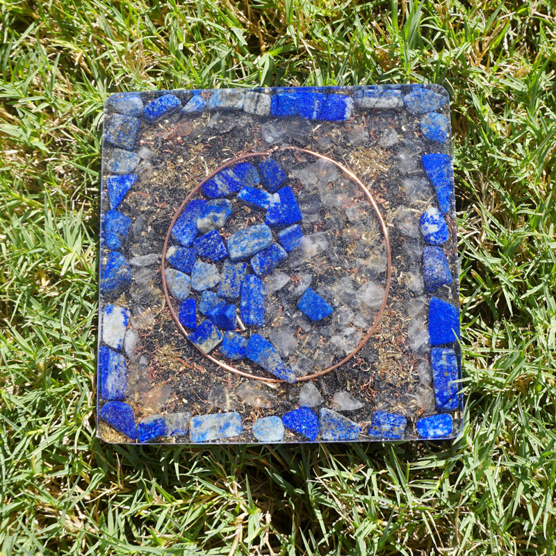 Orgonite Yin Yang Coaster by Vibernation